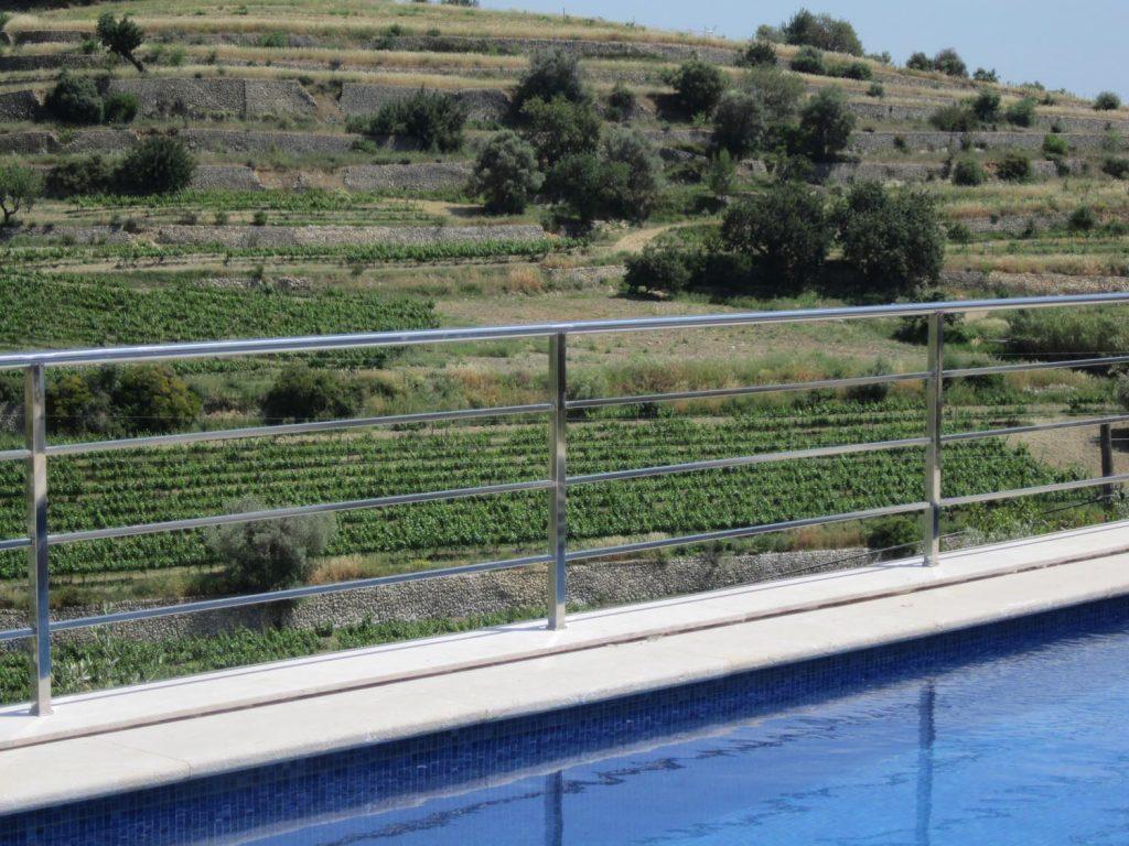 barandas piscina