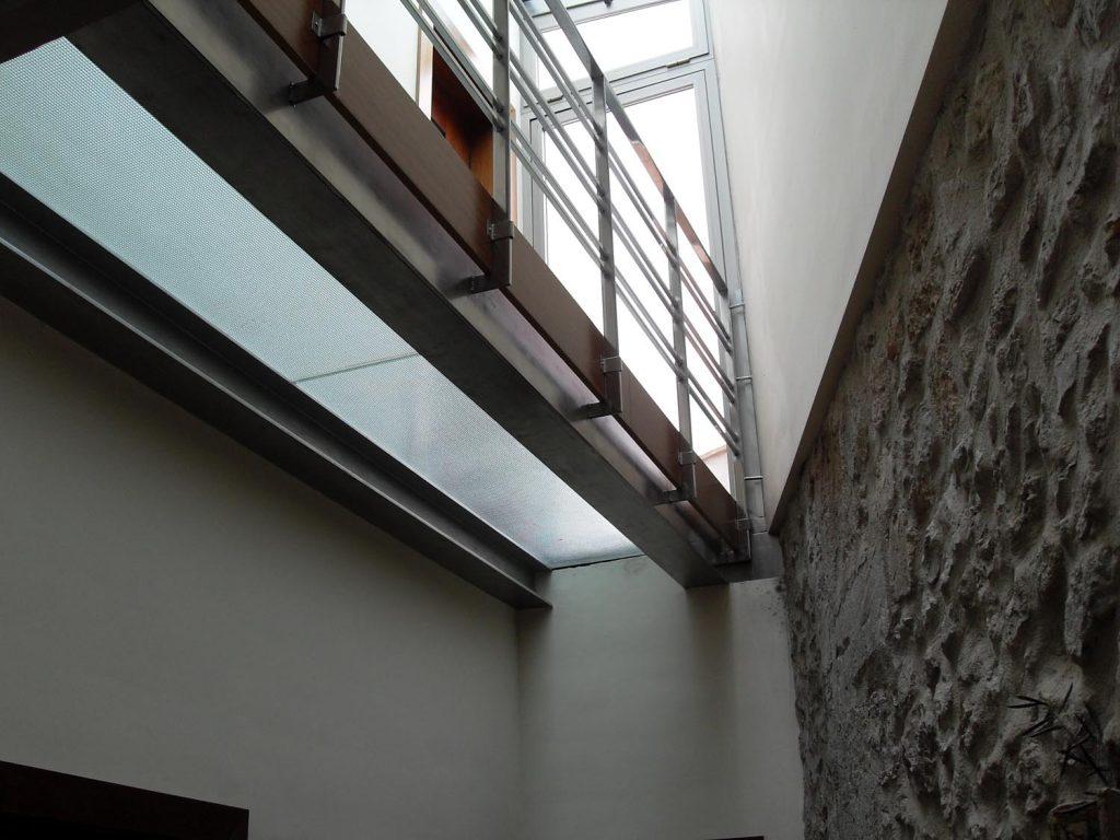 barandilla acero inox de diseño para interiores