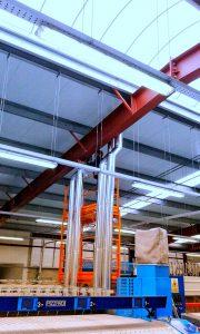 Conductos extracción verticales.