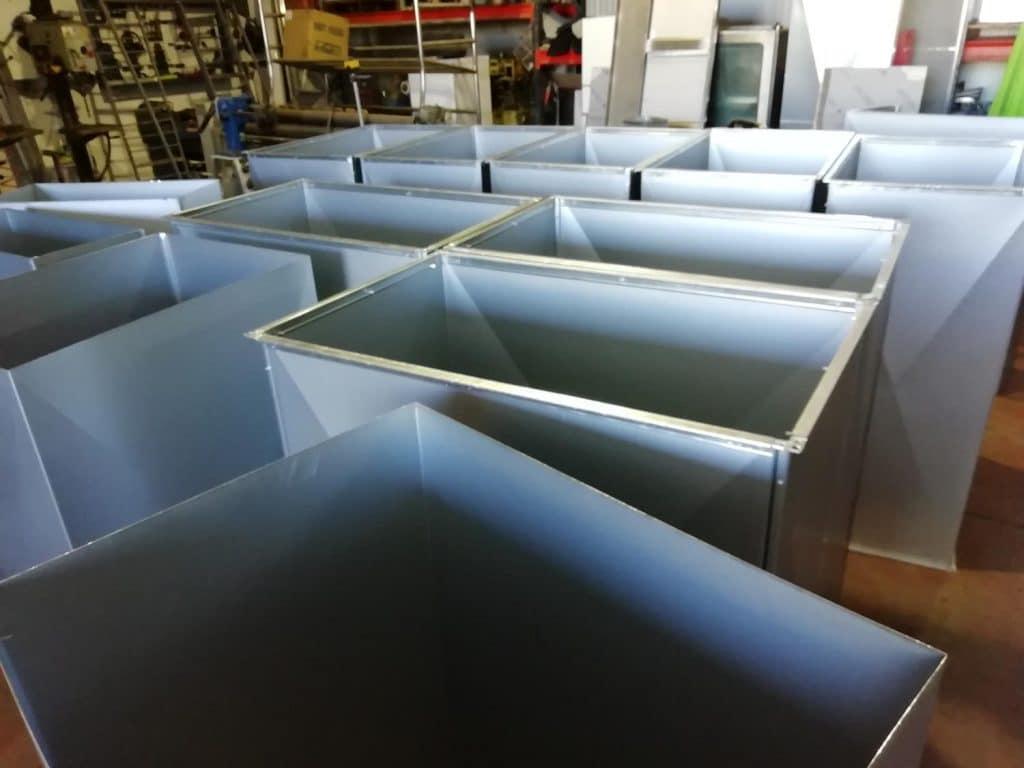 Fabricación conductos rectangulares e600/120 en baleares