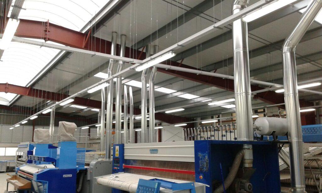 ventilación industrial Mallorca