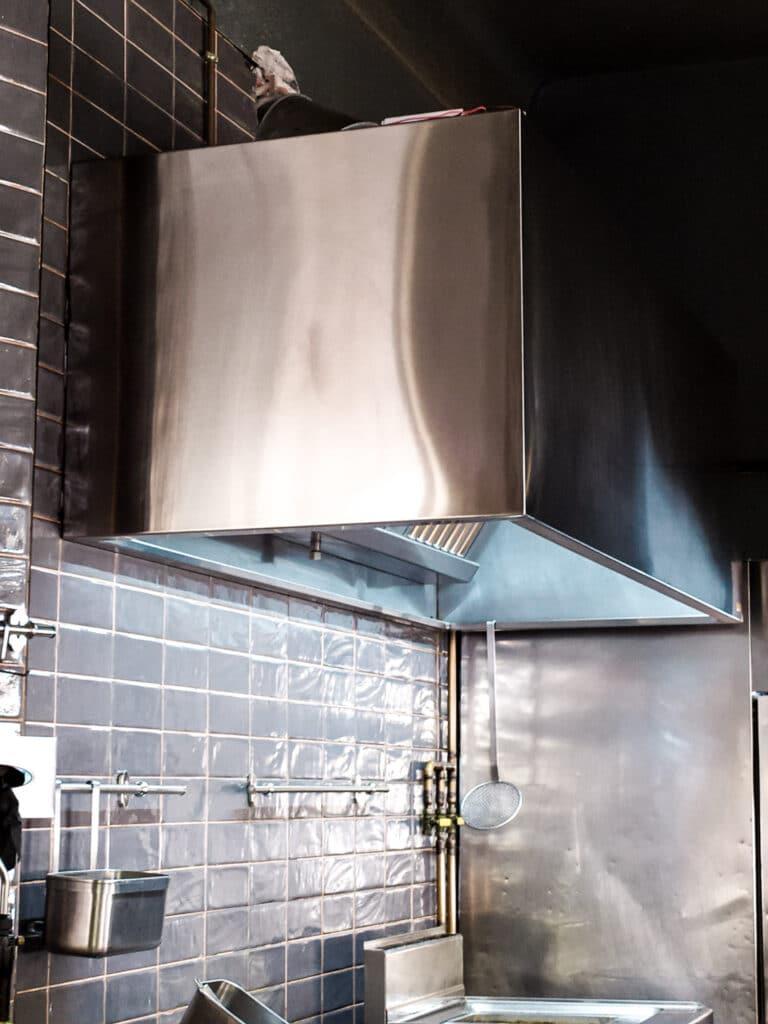 campana cocina industrial
