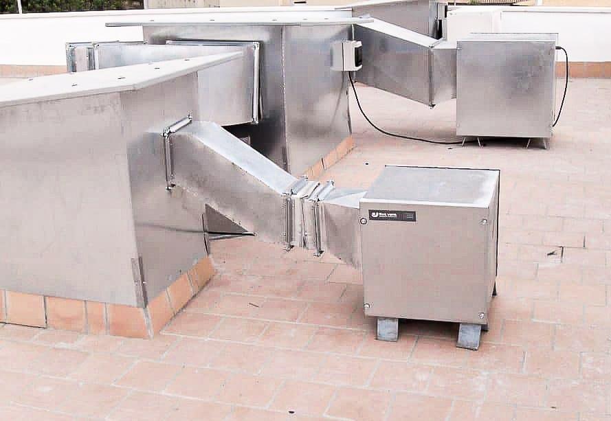 ventiladores industriales cocinas Mallorca