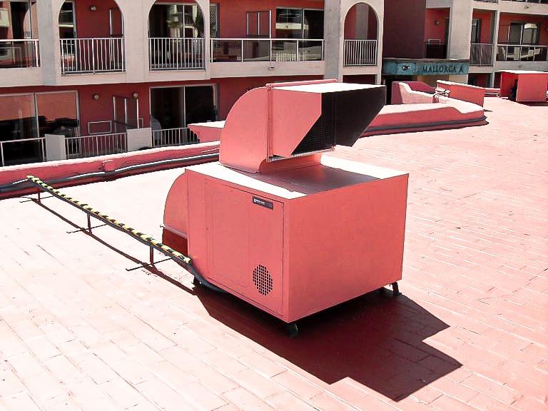 ventiladores industriales cocinas