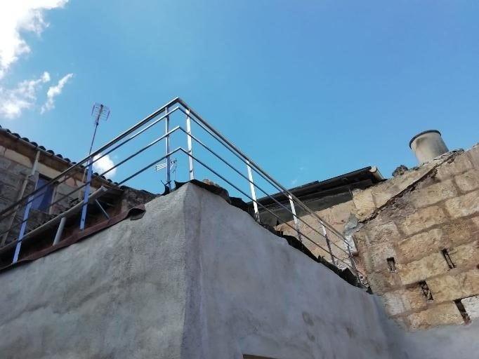 barandillas de acero inoxidable para terrazas