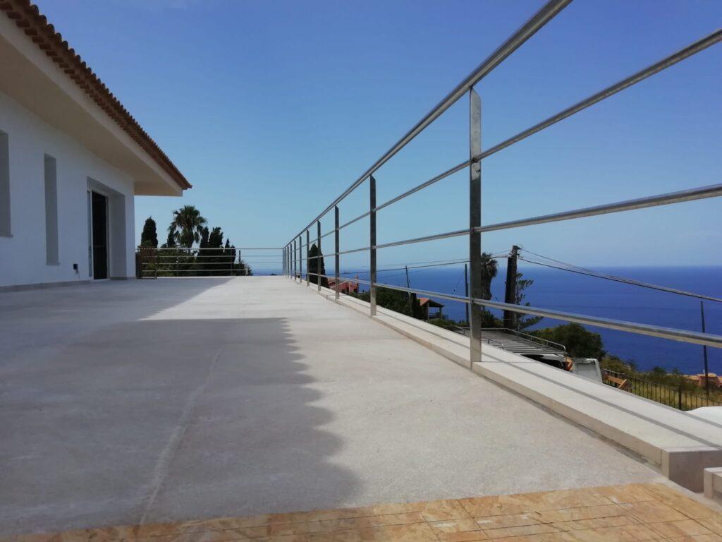 barandillas para terrazas exteriores