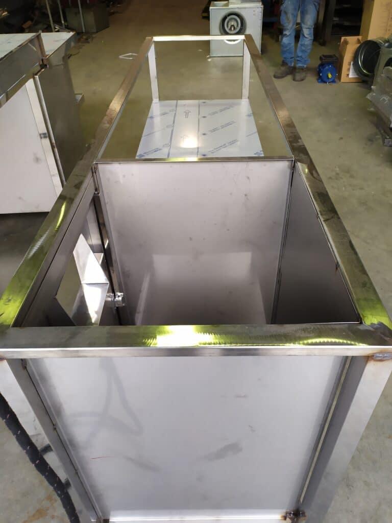 Mobiliario acero para cocinas