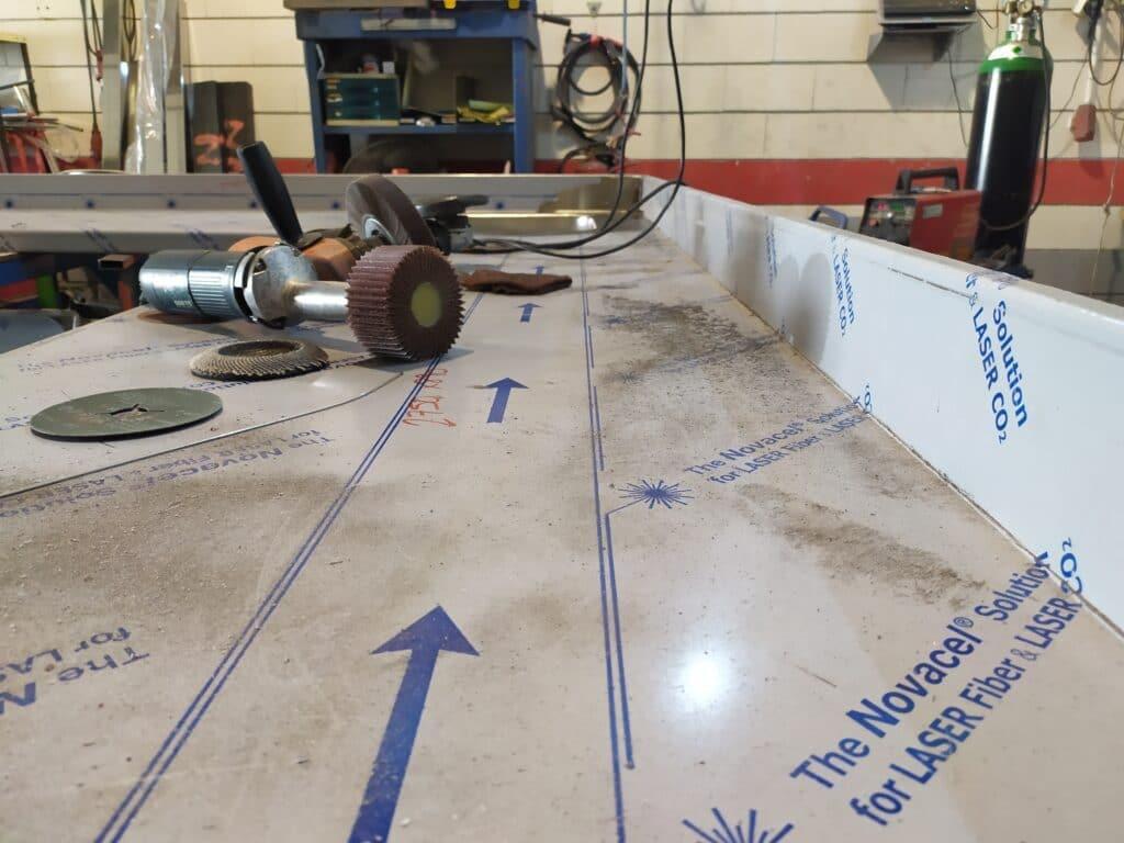 mesa de acero inox a medida