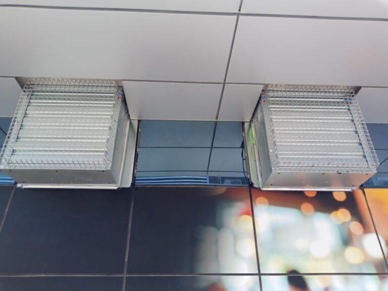 ventiladores industriales de gran caudal en Mallorca